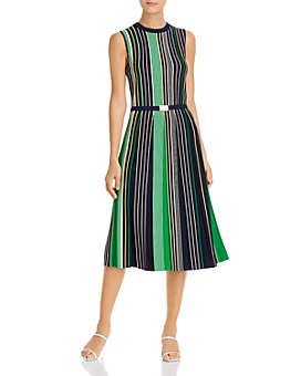 Tory Burch - Striped Sweater Dress