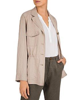 Gerard Darel - Alma Saharan-Style Linen-Blend Jacket