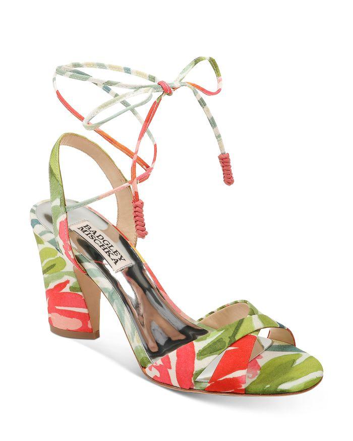 Badgley Mischka Women's Journey Strappy High-Heel Sandals    Bloomingdale's