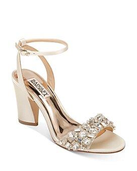 Badgley Mischka - Women's Jill Embellished Strappy Sandals