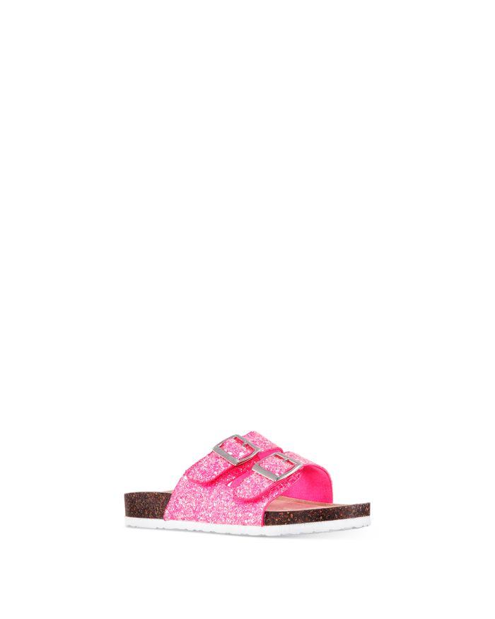 Nina Girls' Laurette Sparkle Slide Sandals - Toddler, Little Kid, Big Kid    Bloomingdale's