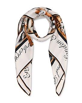 Burberry - Animalia Print Silk Twill Scarf