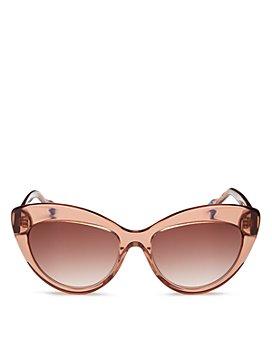 Le Specs Luxe - Women's Cat Eye Sunglasses, 57mm