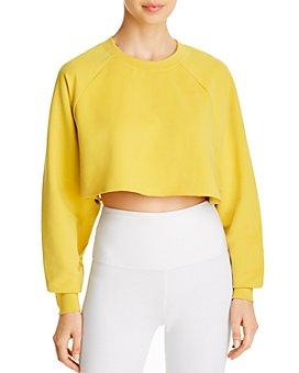 Alo Yoga - Double Take Cropped Sweatshirt