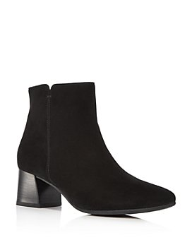 Paul Green - Women's Cassidy Almond-Toe Mid-Heel Booties
