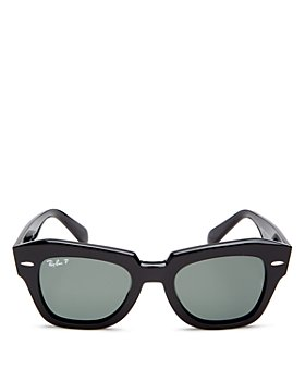 Ray-Ban - Women's State Street Polarized Square Sunglasses, 58mm