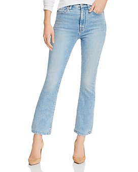 7 For All Mankind - High-Waist Slim Kick Flare Jeans in Melrose