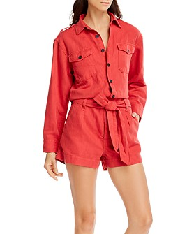 Current/Elliott - The Kaya Belted Romper
