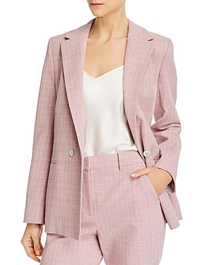 Tailored Rebecca Taylor Plaid Blazer