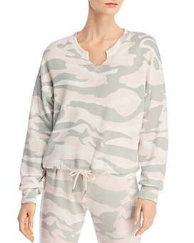 Vintage Havana - Wrap Thread Camo Print Sweatshirt