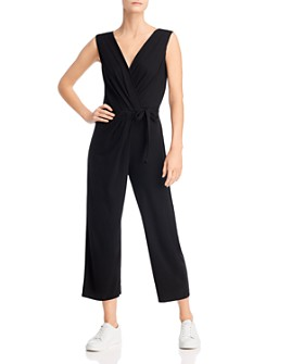 Velvet by Graham & Spencer - Micah Tie-Front Jumpsuit