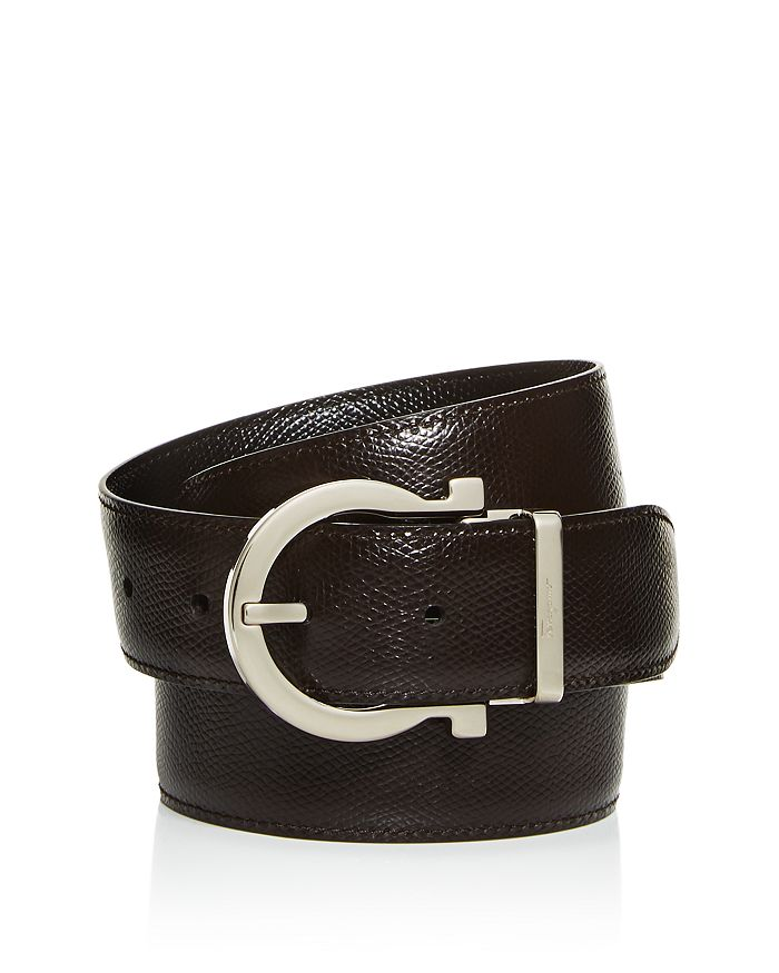Salvatore Ferragamo - Men's Reversible Leather Belt