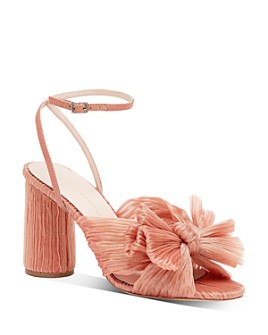 Loeffler Randall - Women's Camellia Bow High-Heel Sandals