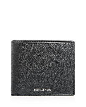 Michael Kors - Mason Pebbled Leather Bi-Fold Wallet
