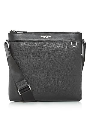 Michael Kors Greyson Leather Messenger Bag