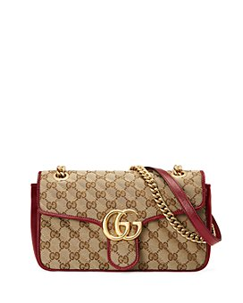 Gucci - GG Marmont Small GG Canvas Shoulder Bag