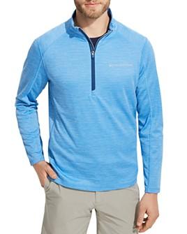 Vineyard Vines - Sankaty Striped Half-Zip Sweater