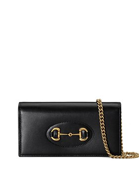 Gucci - 1955 Horsebit Leather Chain Wallet