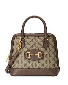Gucci - Gucci 1955 Horsebit Small Leather Top Handle Bag