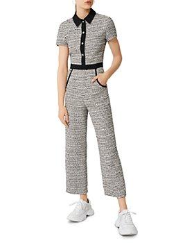 Maje - Penala Tweed Jumpsuit
