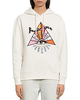 Sandro - Indie Embroidered Sweatshirt