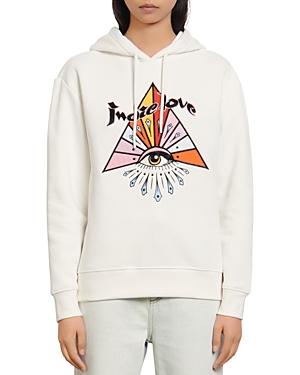 Sandro Indie Embroidered Sweatshirt-Women