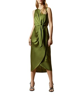 Ted Baker - Pohshan Keyhole Wrap Midi Dress
