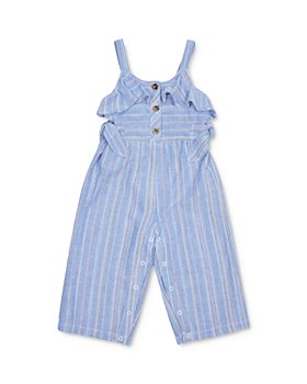 Habitual Kids - Girls' Cotton Striped Jumpsuit - Baby