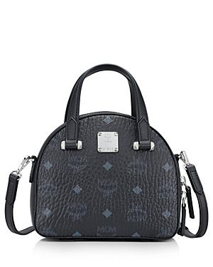 Mcm Essential Visetos Mini Dome Satchel-Handbags