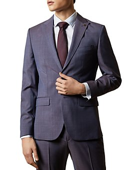 Ted Baker - Renald Check Slim Fit Suit Separate Jacket