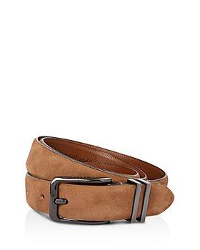 Ted Baker - Crumbs Nubuck Leather Belt
