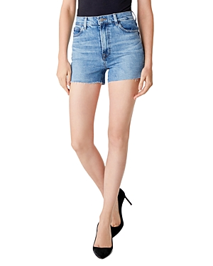 J Brand Jules High-Rise Cutoff Denim Shorts in Chadron-Women