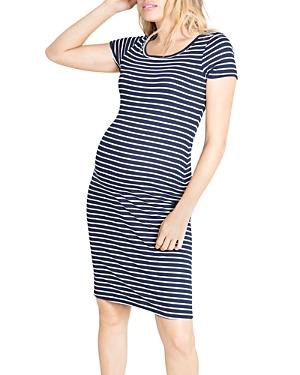 Short-Sleeve T-Shirt Maternity Dress