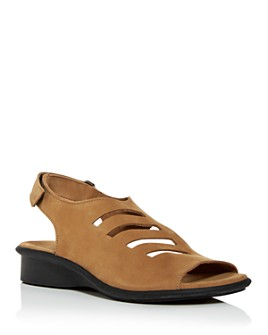 Arche - Women's Saorna Slingback Demi-Wedge Sandals