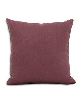"Bloomingdale's Artisan Collection - Velvet & Linen Decorative Pillow, 21"" x 21"""