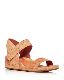 Gentle Souls by Kenneth Cole - Women's Gisele Slingback Wedge Sandals