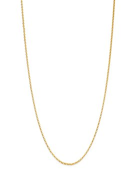 """Bloomingdale's - Round Link Chain Necklace in 14K Yellow Gold, 18"""" - 100% Exclusive"""