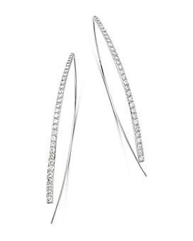 Bloomingdale's - Diamond Threader Earrings in 14K White Gold, 1.50 ct. t.w. - 100% Exclusive