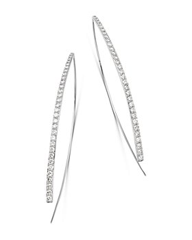 Bloomingdale's - Diamond Threader Earrings in 14K White Gold, 1.50 ct. t.w. - 100% Exclusive