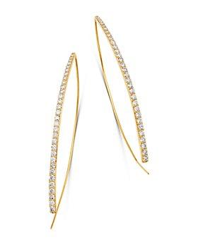 Bloomingdale's - Diamond Threader Earrings in 14K Yellow Gold, 1.50 ct. t.w. - 100% Exclusive