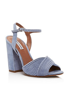 Tabitha Simmons - Women's Kali Crisscross Block-Heel Sandals