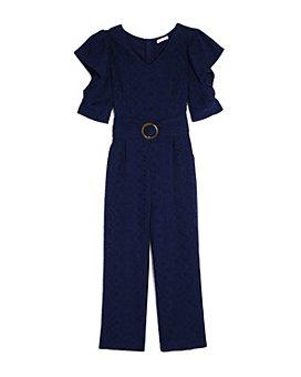 Habitual Kids - Girls' Elsie Eyelet Jumpsuit  - Big Kid