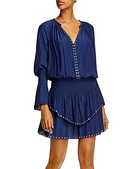 Ramy Brook - Embellished Long-Sleeve Mini Dress - 100% Exclusive