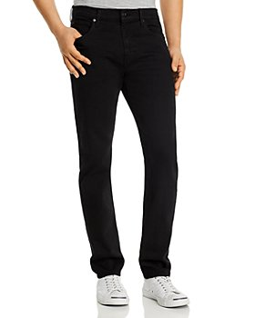 7 For All Mankind - Adrien Clean Pocket Slim Fit Jeans in Annex Black