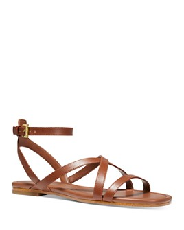 MICHAEL Michael Kors - Women's Tasha Strappy Flat Sandals