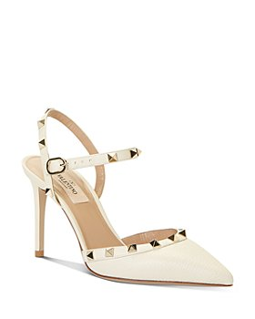 Valentino Garavani - Women's High-Heel Studded Slingback Pumps