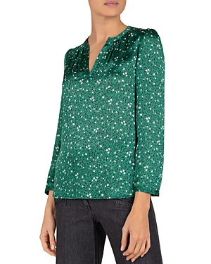 Gerard Darel Nicole Floral Print Shirt-Women