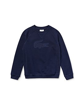 Lacoste - Boys' Cotton Logo Sweatshirt - Little Kid, Big Kid