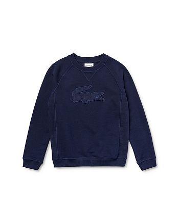 Lacoste - Boys' Cotton Logo Sweatshirt - Little Kid, Big Kid