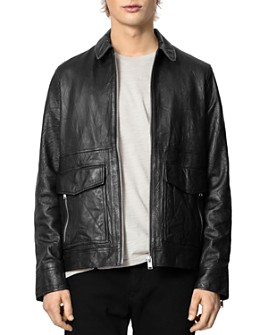 Zadig & Voltaire - Crinkle Leather Jacket